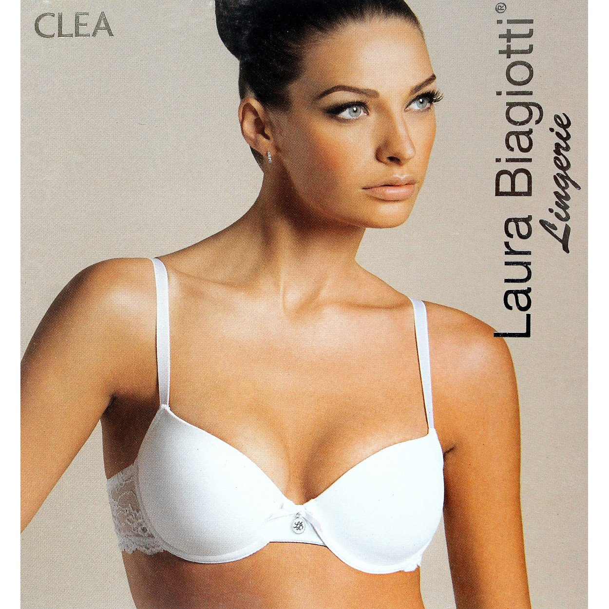 Laura Biagiotti - Sujetador básico - para Mujer Blanco Bianco: Amazon.es: Ropa y accesorios