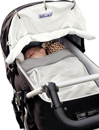 Dooky 126761 - Cubierta de invierno para cochecito de bebé, color crema