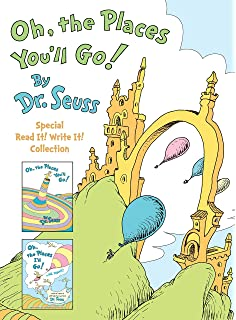 image regarding Oh the Places You'll Go Printable Template identified as Oh, the Locations Youll Transfer! : Dr. Seuss: 8580001038957: Amazon