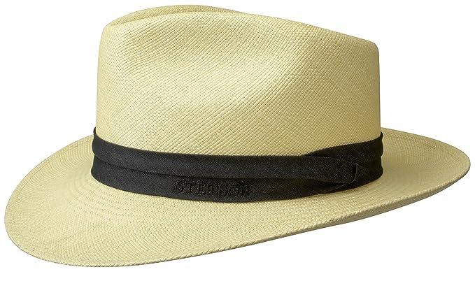 a030fee5 Stetson Jenkins Montecristi Panama Hat: Amazon.co.uk: Clothing