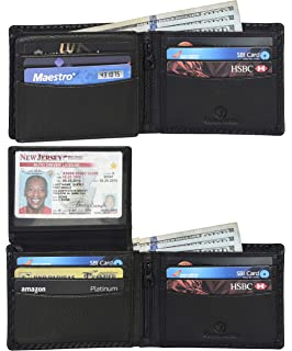 TRIFOLD WALLETDOUBLE  ID //CREDIT CARD SLOTS 266