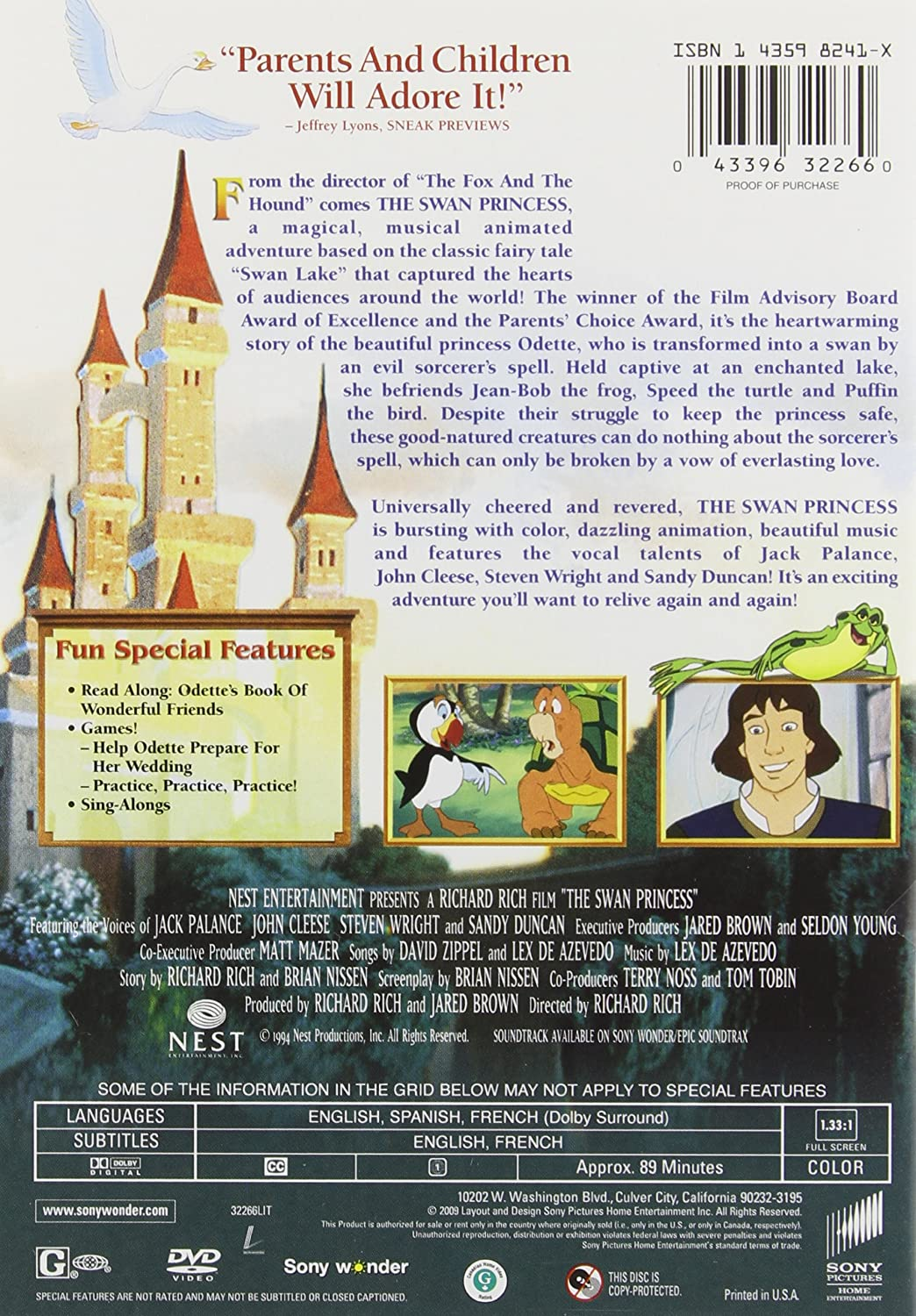 the swan princess movie download in hindi