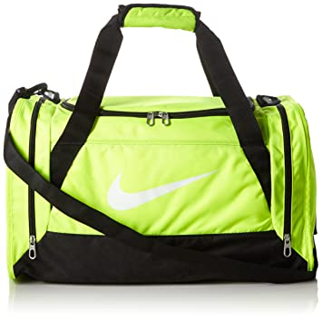 cc7451aa52ab Nike Brasilia 6 (Small) Training Gym Duffel Equipment Bag Volt Black White