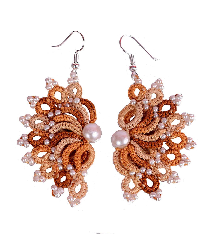 Buy Hemdar Collection Handmade Earrings Handmade Earings Crochet