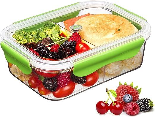 Tritan Plastico Contenedor Alimentos Hermetico,Recipientes Comida ...