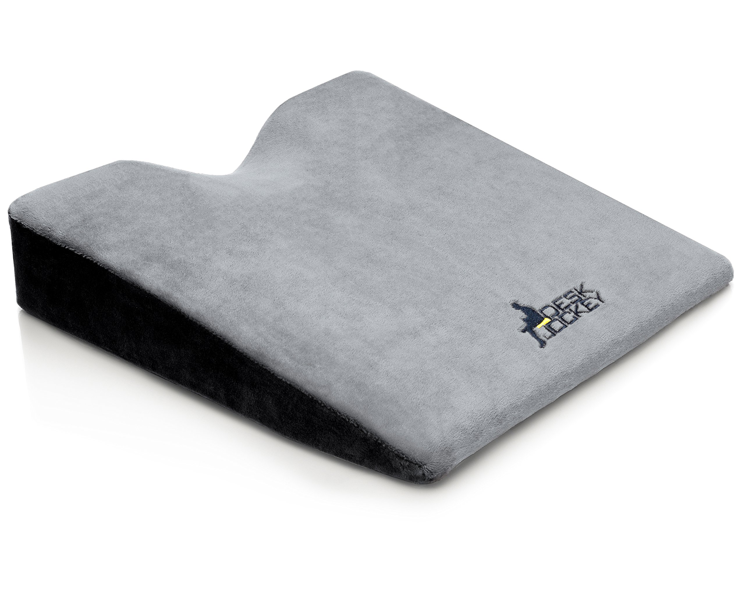 Car Seat Cushion - Premium Therapeutic Grade Car Wedge Cushion To Elevate Height And Comfort While Driving