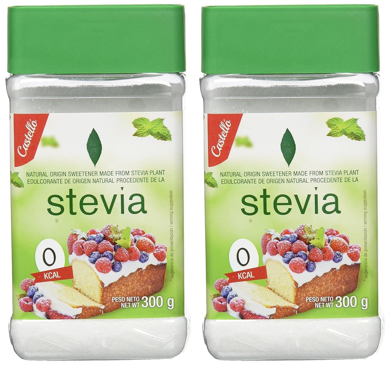 Castelló Since 1907 Edulcorante Stevia 1:3 - Paquete de 2 x 300 gr - Total: 600 gr: Amazon.es: Alimentación y bebidas