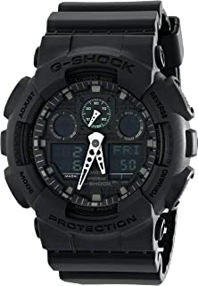 Amazon.com  Casio Men s GD100-1BCR G-Shock X-Large Black Multi ... 3c0f18b5ef