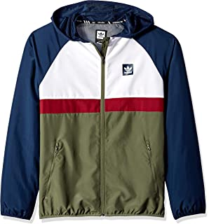 on sale f3951 d5bb9 adidas Originals Men s Skateboarding Blackbird Packable Wind Jacket
