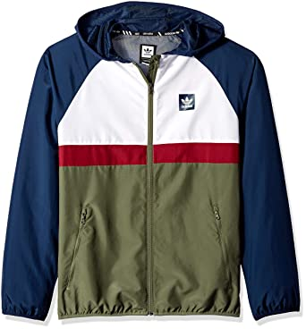 30b02cdb3099 adidas Originals Men's Skateboarding Blackbird Packable Wind Jacket