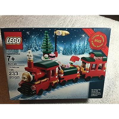 Lego Christmas Train Set - 40138: Toys & Games