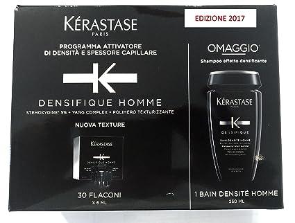 Kerastase - K Densifique Homme 6x 30ml y Bain densité ...