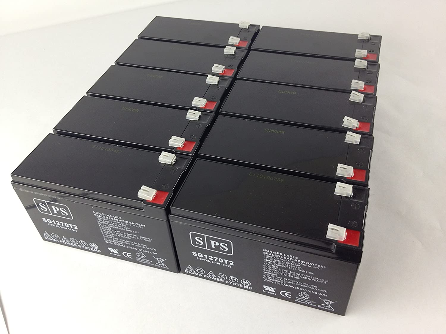 12V 7Ah (from SPS) Parks Electronics Labs 1010A Doppler Medical Replacement Battery (10 Pack) 91eJ0EFvdALSL1500_