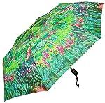 RainStoppers w3523Abierto Cierre automático Mini impresión Monet jardín Secreto ARC, 106.7cm, Multi