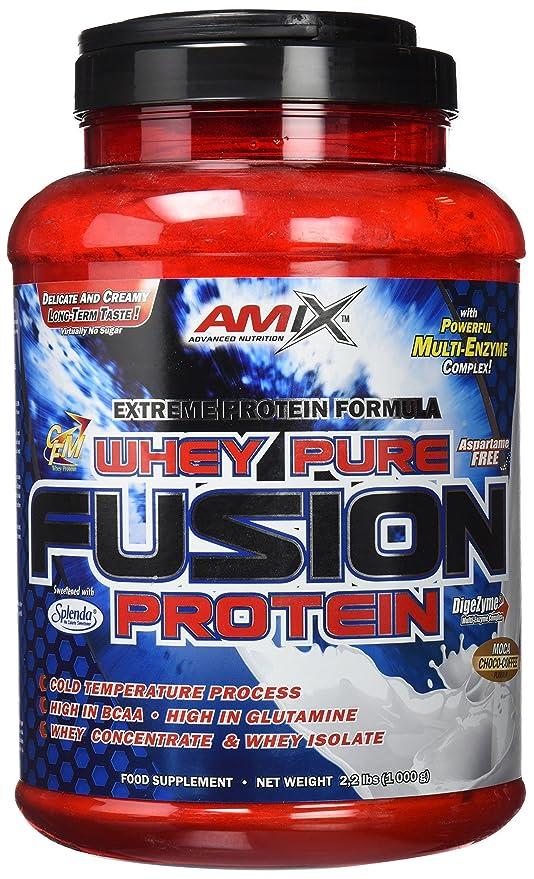 Amix Whey Pure Fusion 1 kg Moca-chocolate-cafe: Amazon.es ...