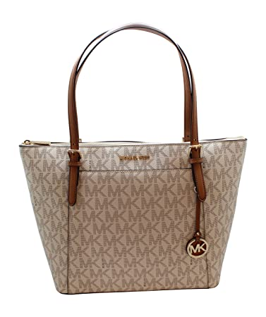 7f377d7d7b20 Amazon.com: Michael Kors Ciara LG tote Bag Vanilla/Acrn (35T8GC6T7B):  Unique Jewelry Plus