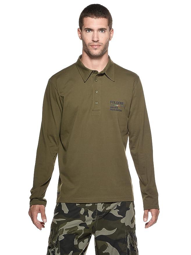 Ejército Italiano Polo 205 Verde Militar L: Amazon.es: Ropa y ...