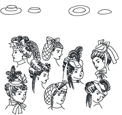 amazon perky little hat 15th 19th century pattern arts Colonial Hatter image unavailable