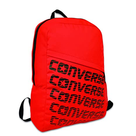 5f07db195f728 Converse Accessories Backpack Casual, 45 cm, 19 litres, Red: Amazon.co.uk:  Luggage