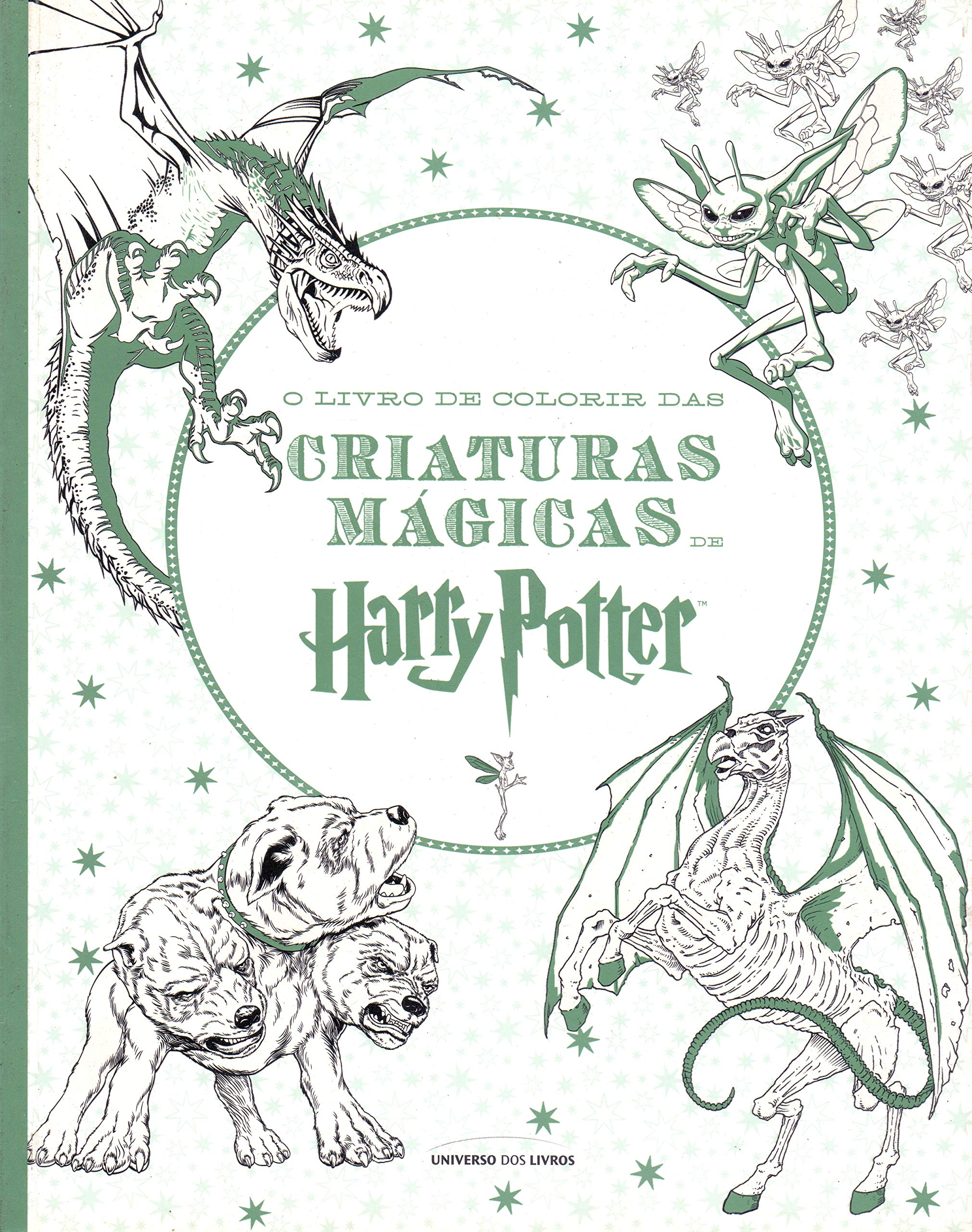 O Livro De Colorir Das Criaturas Magicas De Harry Potter Em