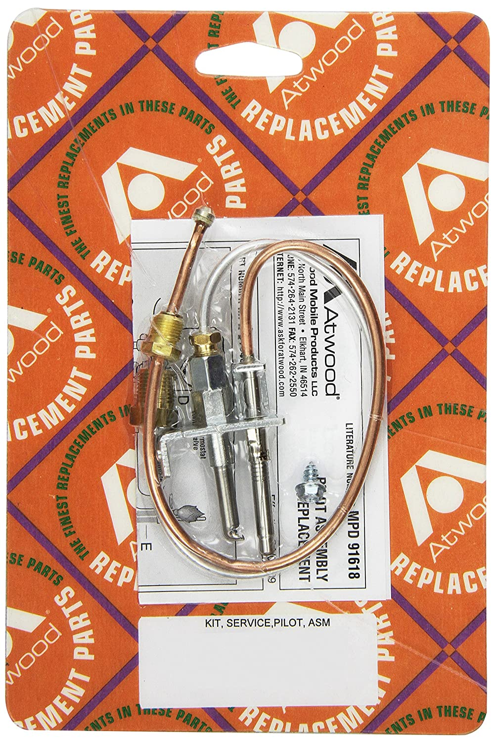 Atwood 91603 Jade Pilot Water Heater Assembly