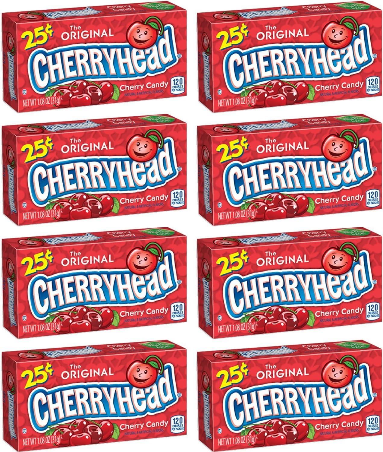 Ferrara Pan Cherryheads 1.08 Oz Each (Pack of 24): Amazon.es: Alimentación y bebidas