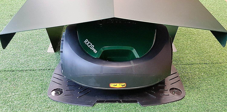CODI Caseta/Garaje Robot cortacésped, Mod 550 Aluminio, Válido par Todos los Fabricantes (Ambrogio, Gardena, Honda, Husqvarna, Viking Wolf, Robomow, Smartbot): Amazon.es: Jardín