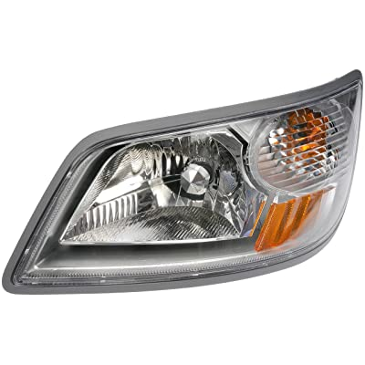 Dorman 888-5760 Driver Side Headlight Assembly For Select Hino Models,Clear: Automotive