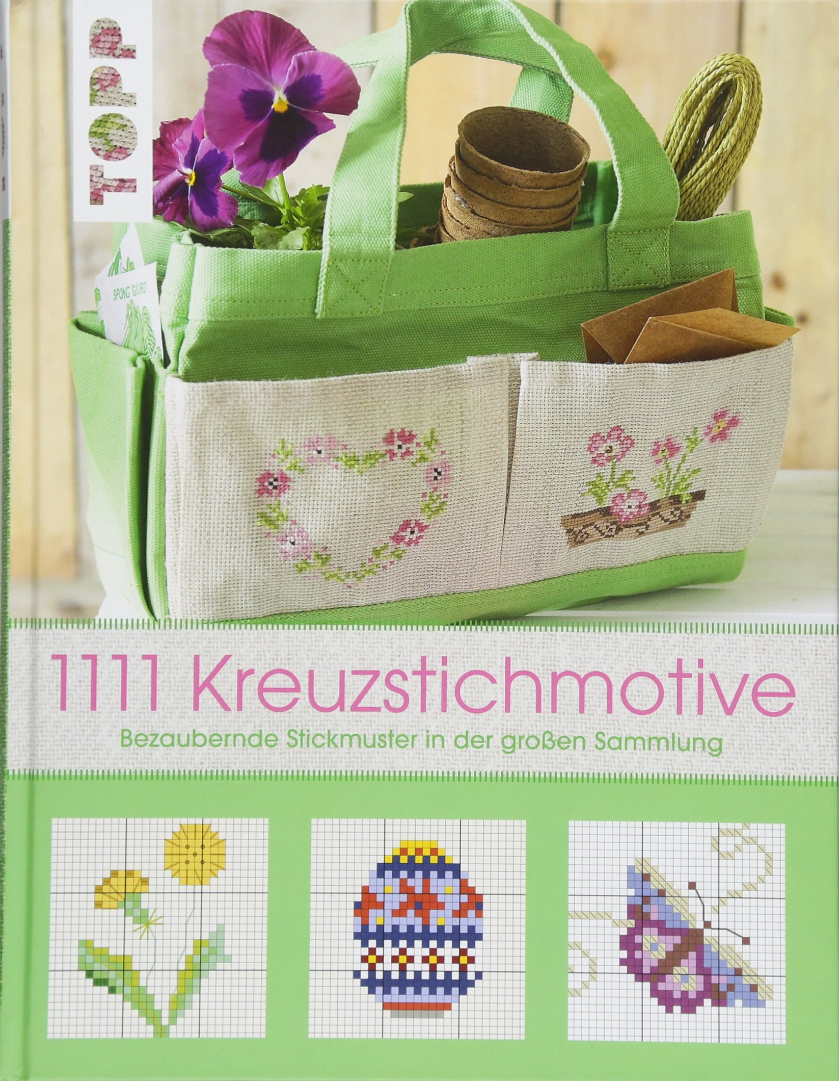 1111 Kreuzstichmotive: Bezaubernde Stickmuster in der großen Sammlung