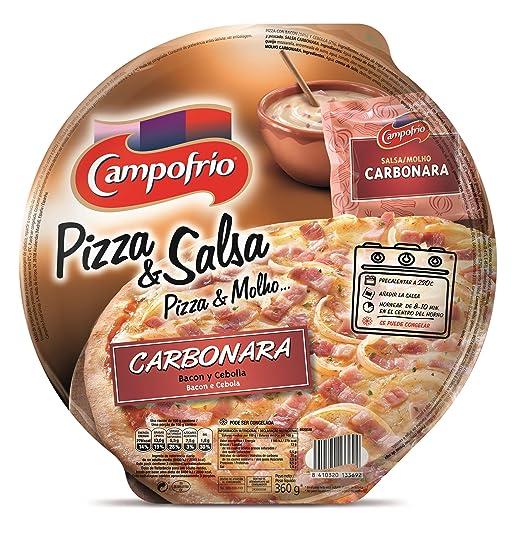 Campofrio Pizza y Salsa Carbonara - 360 gr