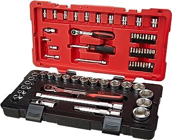KS Tools 922.0667 Ultimate estuche de llaves de vaso/accesorios, Set de 68 piezas: Amazon.es: Bricolaje y herramientas
