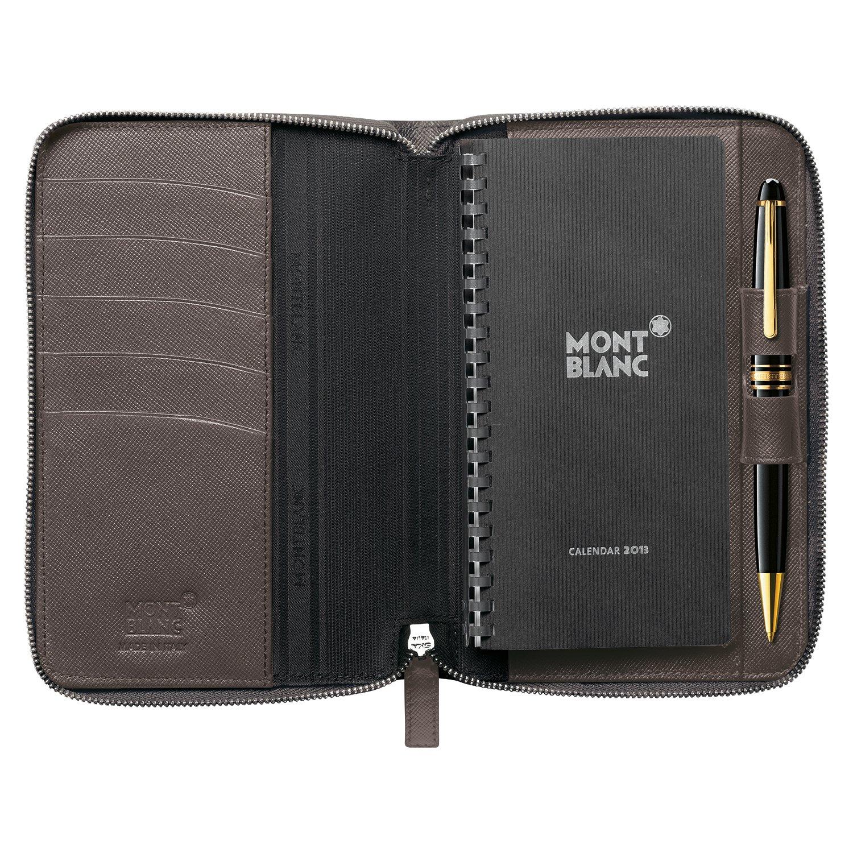 Montblanc 109670 agenda pequeña con cremallera: Amazon.es ...