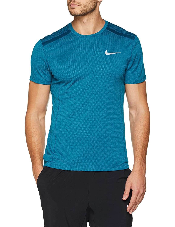 Nike M Nk Cool Miler Top SS Camiseta, Hombre