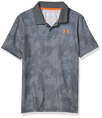 Under Armour Performance 2.0 Novelty Camisa Polo, Niños: Amazon.es ...