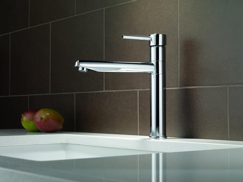 Delta Faucet 1159LF Trinsic, Single Handle Centerset Kitchen Faucet ...