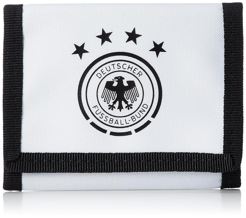 adidas Performance Fanartikel adidas DFB Geldbeutel weiß (White/Black) 10 x 13 cm ADIEY|#adidas
