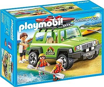 Playmobil Campamento de Verano- Off-Road SUV Playset ...