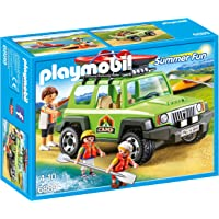 Playmobil - 6889 - Camp SUVs avec kayaks