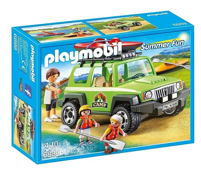 Playmobil Campamento de Verano Off-Road SUV Playset,, Miscelanea (6889): Amazon.es: Juguetes y juegos