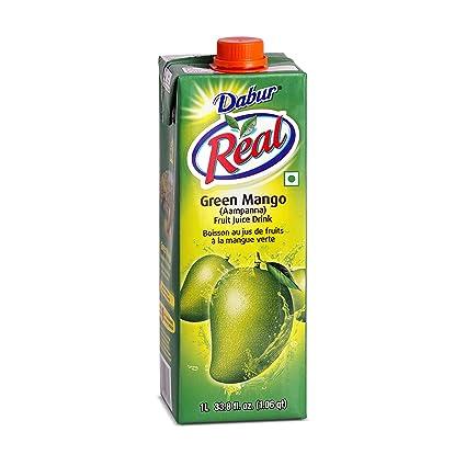 Dabur Real Green Mango/Aampanna Fruit - Juego de 3 jarras de ...