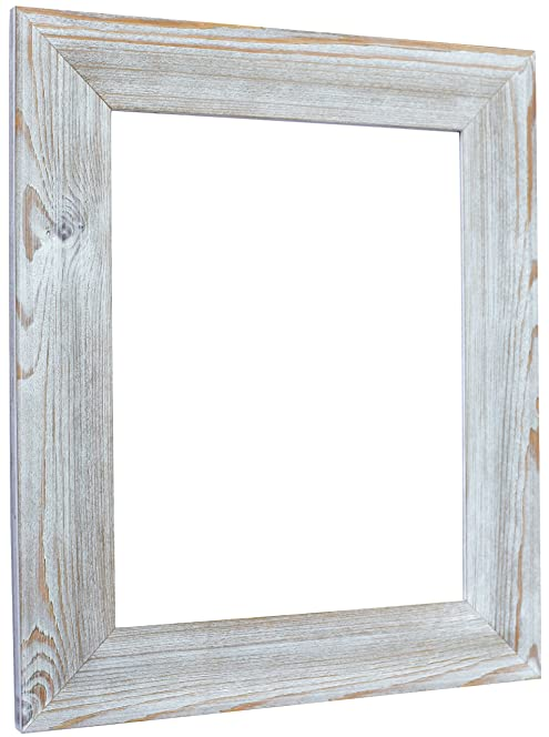 tailored frames shabby chic driftwood picture and photo frames 10 - Driftwood Frame