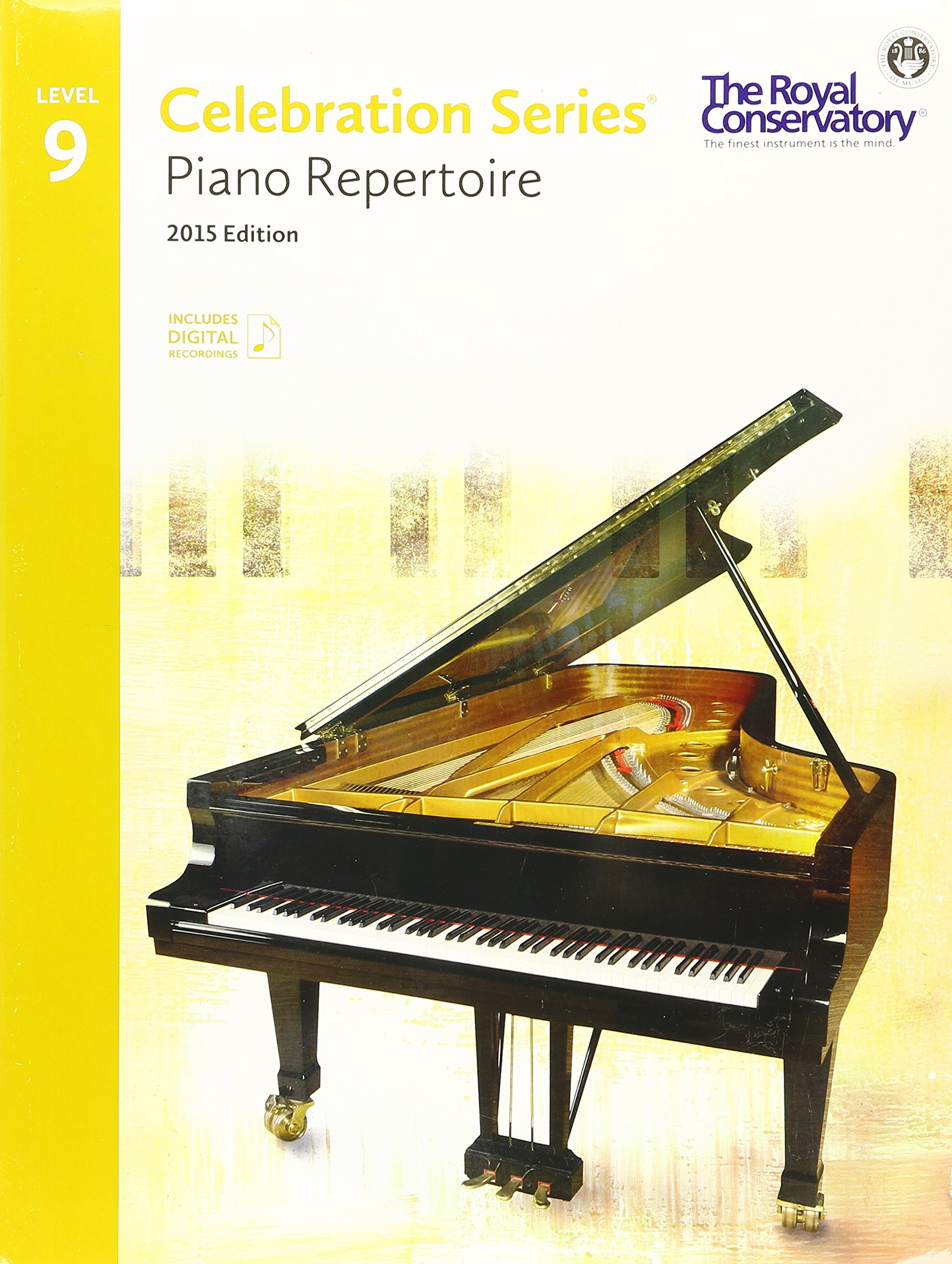 C5r09  Royal Conservatory Celebration Series  Piano Repertoire Level 9  Book 2015 Edition: Royal Conservatory: 9781554407170: Amazon: Books