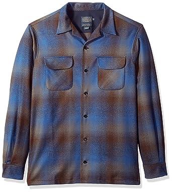 e6df1108f4cf77 Amazon.com  Pendleton Men s Big   Tall Long Sleeve Board Shirt  Clothing