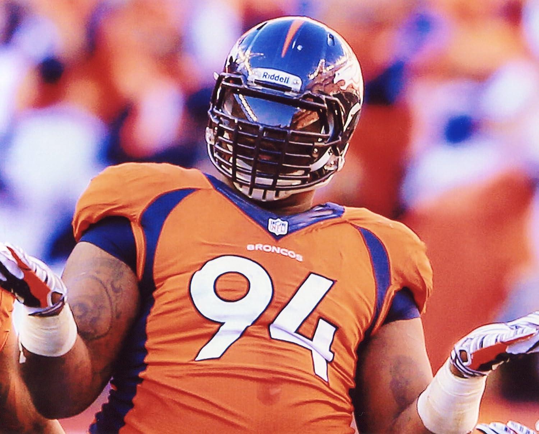 Terrance Knighton Knighton Denver ) Broncos B00J4XZWAW 8 x 10スポーツアクション写真( E ) B00J4XZWAW, Foothill Gardens:e49e88a8 --- number-directory.top