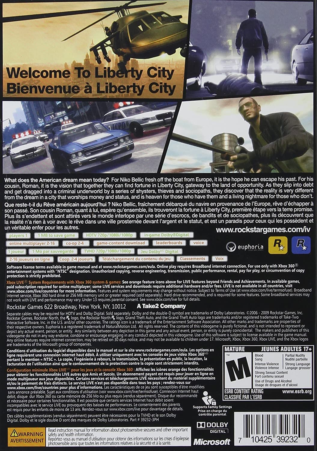Pics photos grand theft auto iv the law breaking spree continues - Amazon Com Grand Theft Auto Iv Xbox 360 Artist Not Provided Video Games