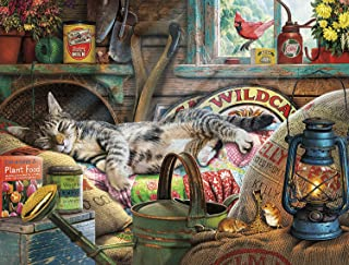 product image for Buffalo Games - Cats Collection - Laid-Back Tom - 750 Piece Jigsaw Puzzle