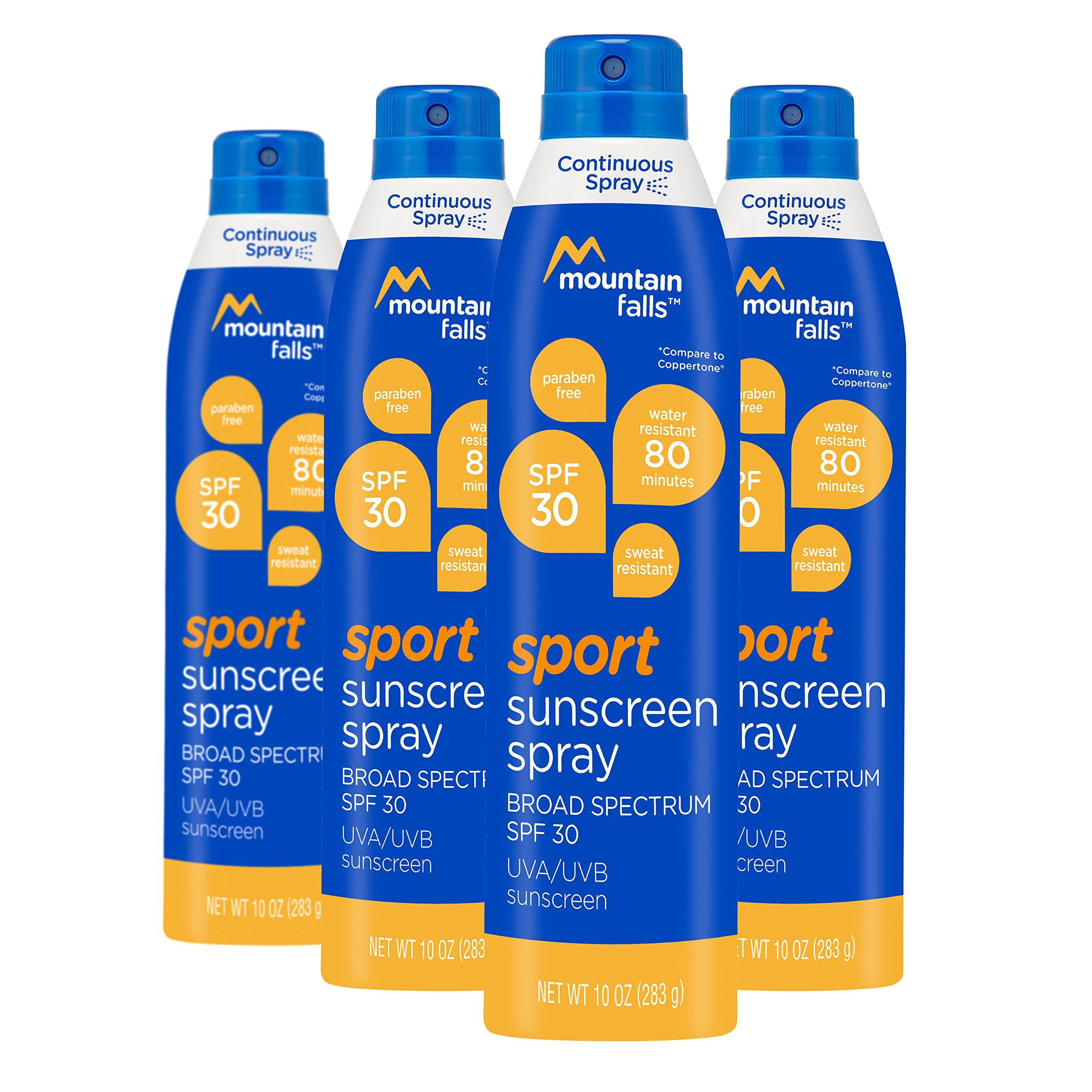 Amazon Mountain Falls Sport Sunscreen Continuous Spray Spf 50
