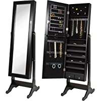 Best Choice Products Mirrored Jewelry Cabinet