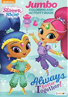 Amazon Shimmer And Shine Coloring Book For
