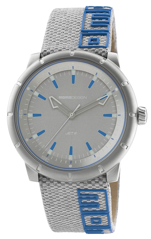 Uhr MOMO Desing md8287ss-23 mit Schweizer Bewegung und Leder-Armband.
